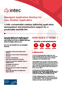Download the Managed Application Infosheet